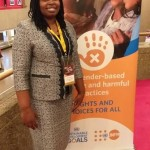 Rhobi Samwelly at UNFPA meeting in Ottawa