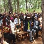 parents' meeting, Tunamkumbuka Secondary School
