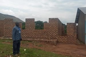 Unfinished laborotory at Ikondo Secondary School