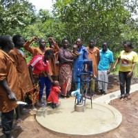Completed Borehole