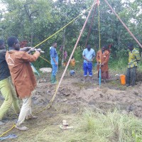Drilling of borehole