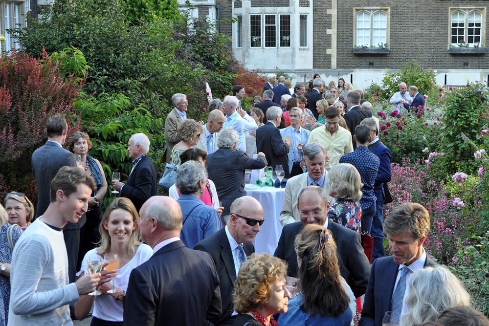 Campaign for Real Gin Garden party in aid of Tanzania Development Trust, Middle Temple London