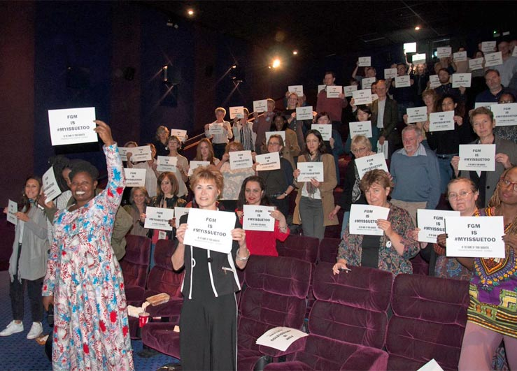 audience declares that FGM is #myissuetoo