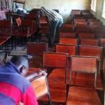new chairs Tunamkumbuka Secondary School