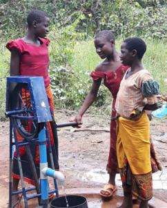 Zeze rope pump bore hole Kasulu-Kigoma