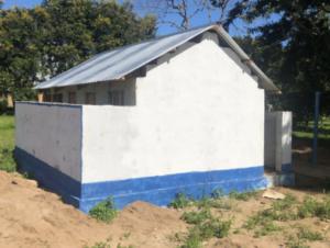 Mtangalanga secondary school Mtwara : Girls' hostel toilets