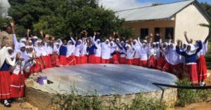 Mtangalanga secondary school Mtwara : water tank